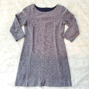 THEORY TEXTURED SHIFT DRESS